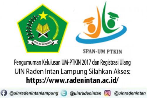 Panduan Pengisian Form Ukt 2017 Jalur Um Ptkin Uin Raden Intan Lampung
